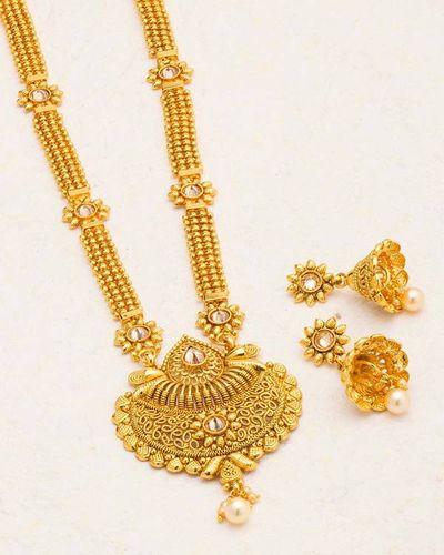 207cd6ff2d30 Buy Designer Necklace Sets Ethnic Sanskriti Rani Haar Necklace Set Online