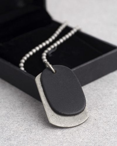 Dog Tag Pendant from Biker Collection