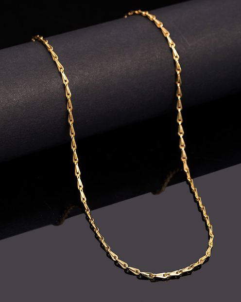 Golden Links Elegant Link Chain thumbnail