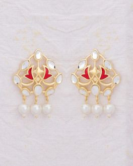 43c39a2dbd Buy Kundan Meena Jewellery Sets Online - Kundan Jewellery for Women ...