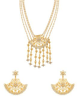 90eb6ad9caf Buy Bridal Pearl Wedding Necklace Online for Women in India
