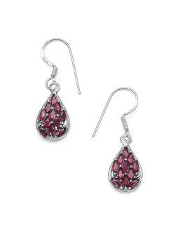 332e28577 Buy Designer Pearl, Drop, Crystal, Silver Earrings Online | Voylla