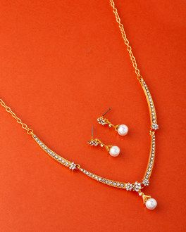 87b69f912 CZ Elegance Necklace Set