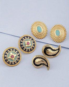 250509c58 Buy Designer Earrings Online - Pearl Studs, Drop Earrings, Rings for ...